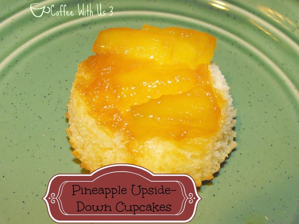 pineapple upside down cupcake