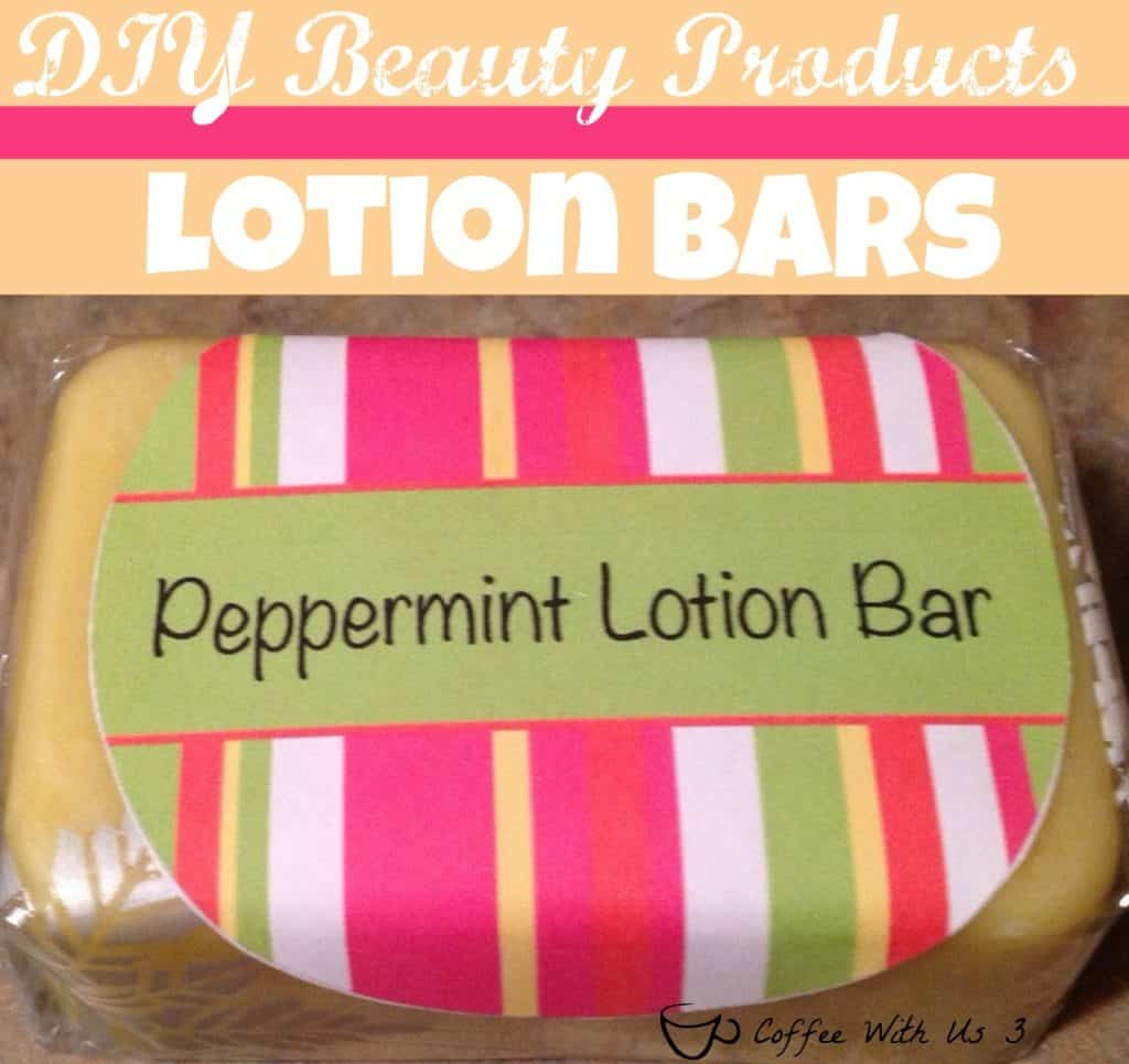 How to Make Your Own Peppermint Lotion Bar | Want to ditch the chemicals in traditional lotion or just make your own lotion bars for personal use or for gifts. Check out these easy to follow step-by-step directions! Click to get the how-to!