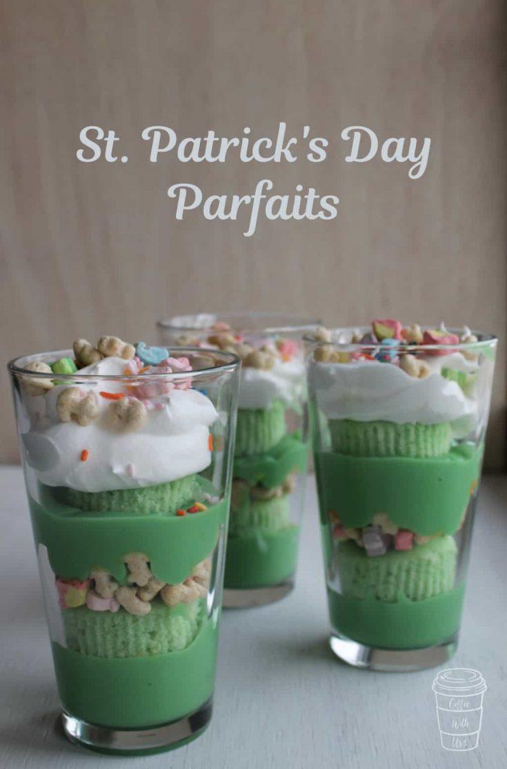 St. Patrick's Day Parfait