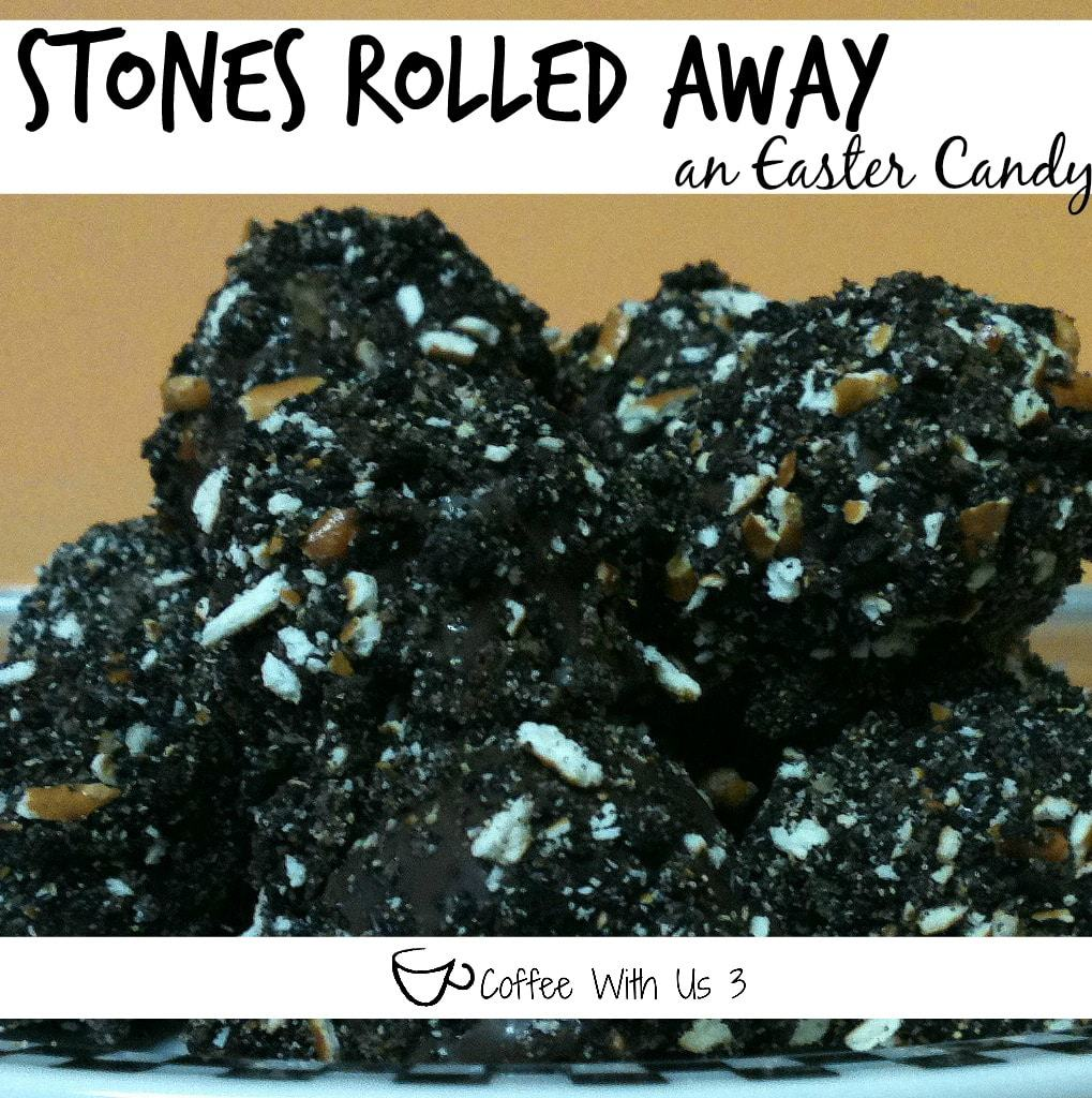 stone rolled away - an Easter Candy