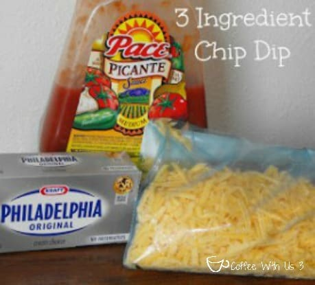 3 Ingredient Chip Dip by Coffee With Us 3 / Easy, fast and a sure winner