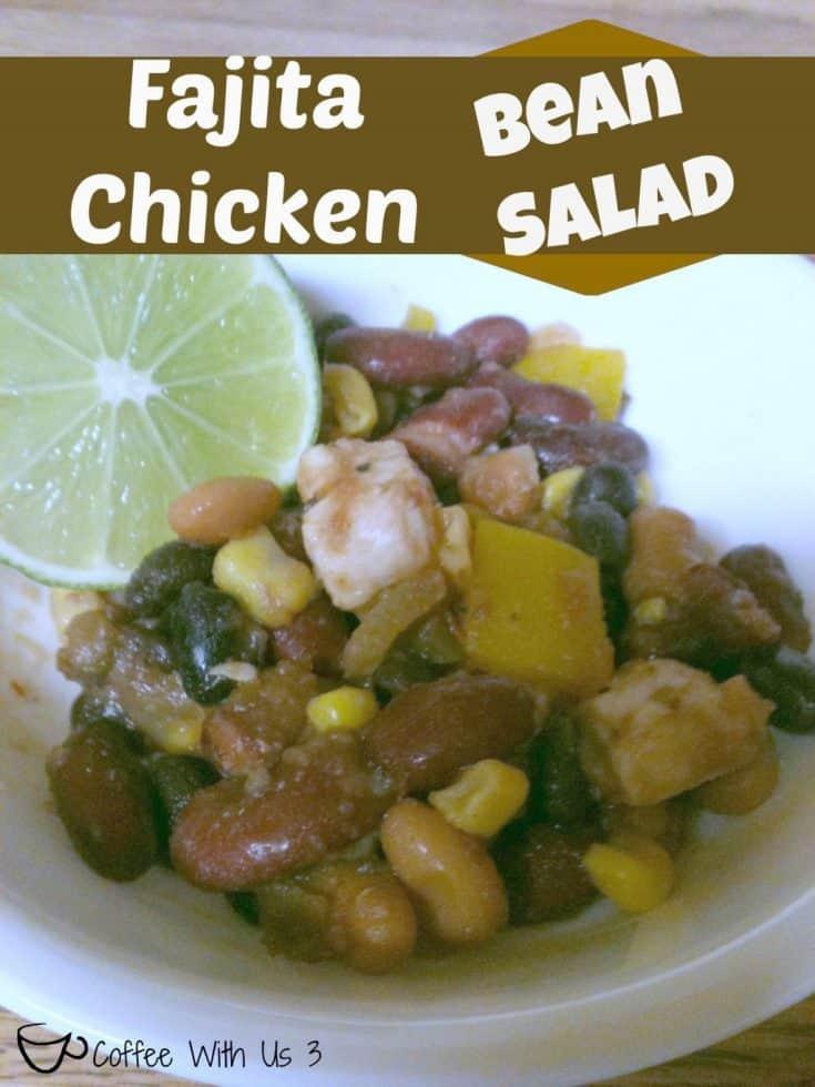 Fajita Chicken Bean Salad