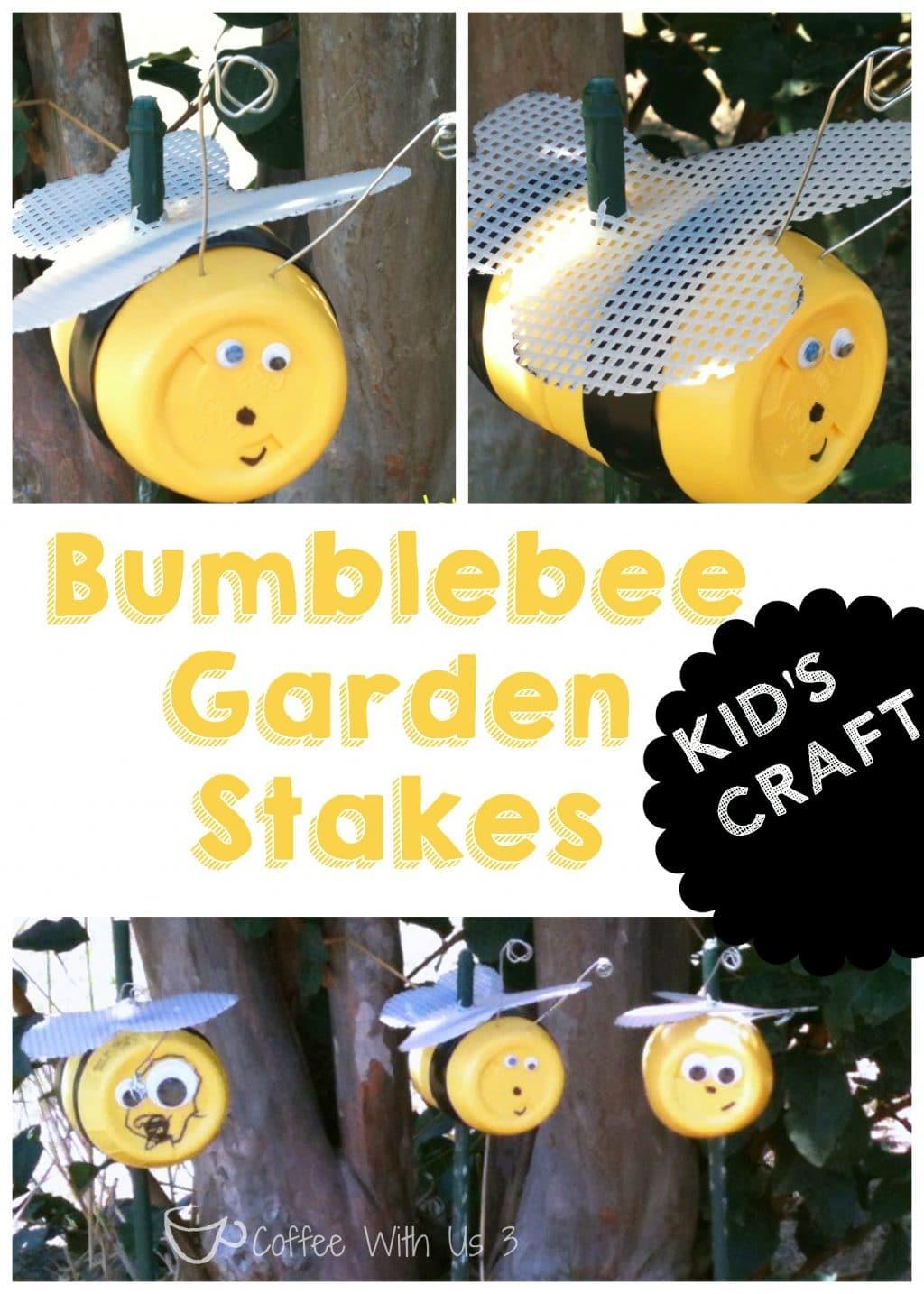 garden stake bee