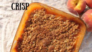 Peach Pie Crisp