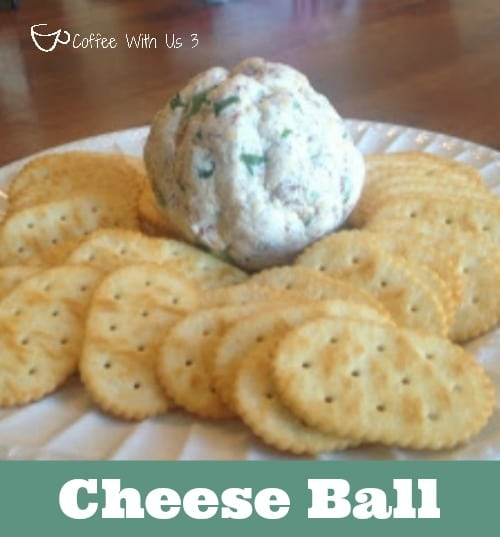 Cheese Ball by Coffee With Us 3 / The best appetizer for Christmas or any party