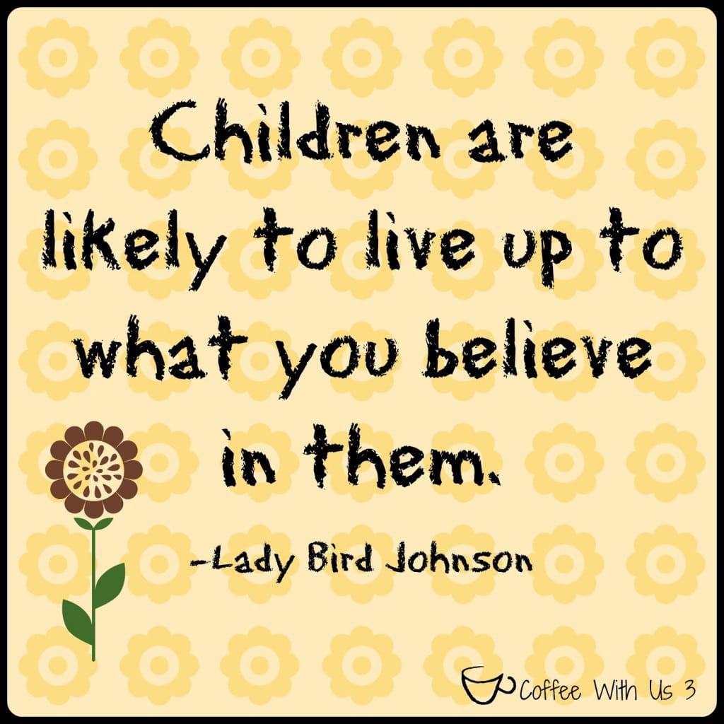 Growing your child's personality is directing their personality and character traits