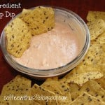 3 Ingredient Chip Dip
