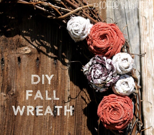 DIY Fall Wreath. Make this simple wreath to decorate your home for autumn.