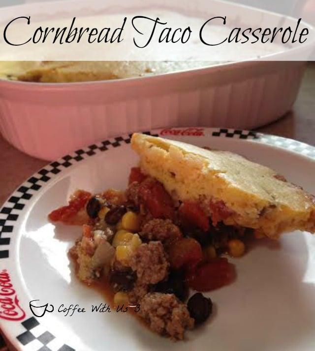 Cornbread Taco Casserole