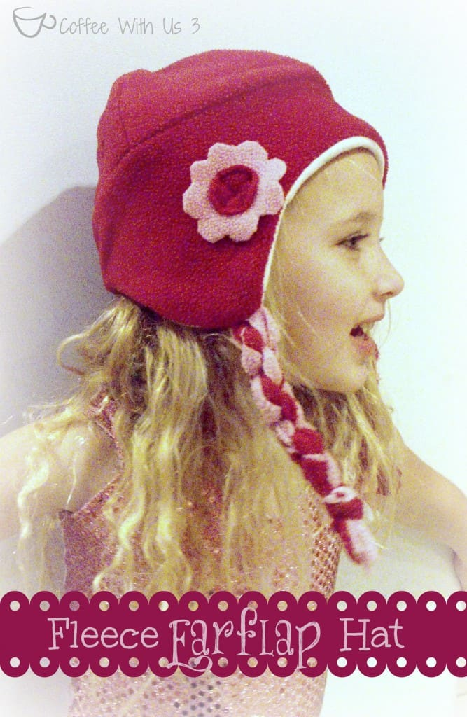 fleece earflap hat