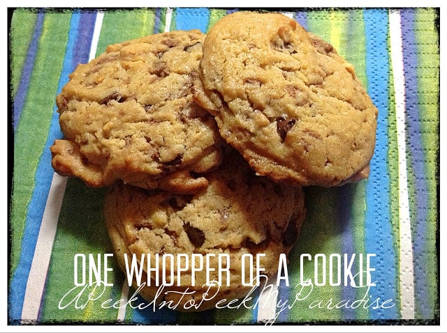 31 Cookie Recipes – One Whopper of a Cookie