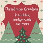 Free Holiday Printables, Backgrounds & More