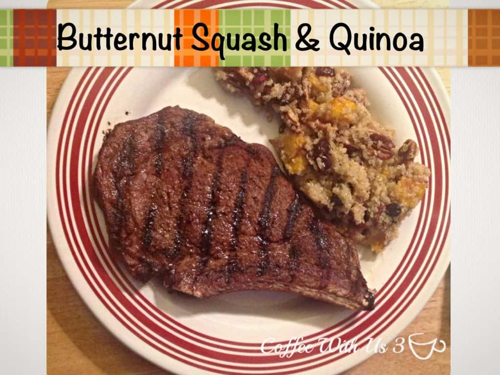 Butternut Squash & Quinoa by Coffee With Us 3 #recipes #Thanksgiving