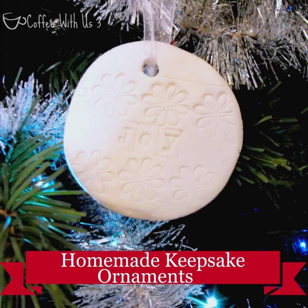 Homemade Keepsake Ornaments | Coffee With Us 3