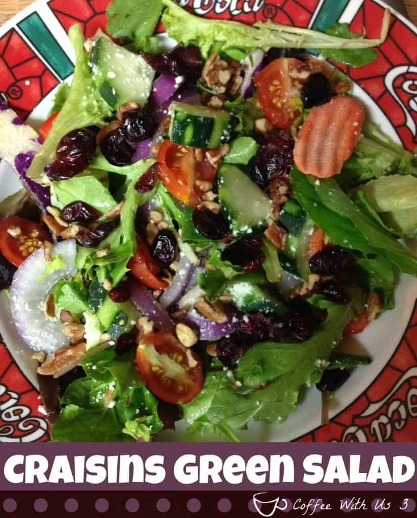 Craisins Green Salad by Coffee With Us 3