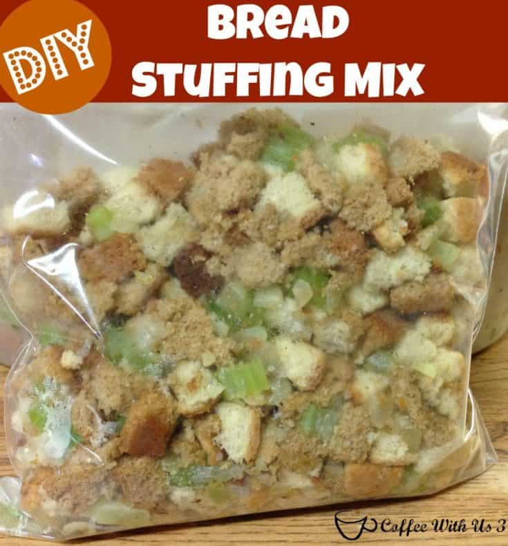 DIY Stuffing Mix (Freezable)