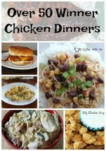Amazing chicken dinner recipes that are sure to be a hit with your family but add variety to your menu or meal plan!