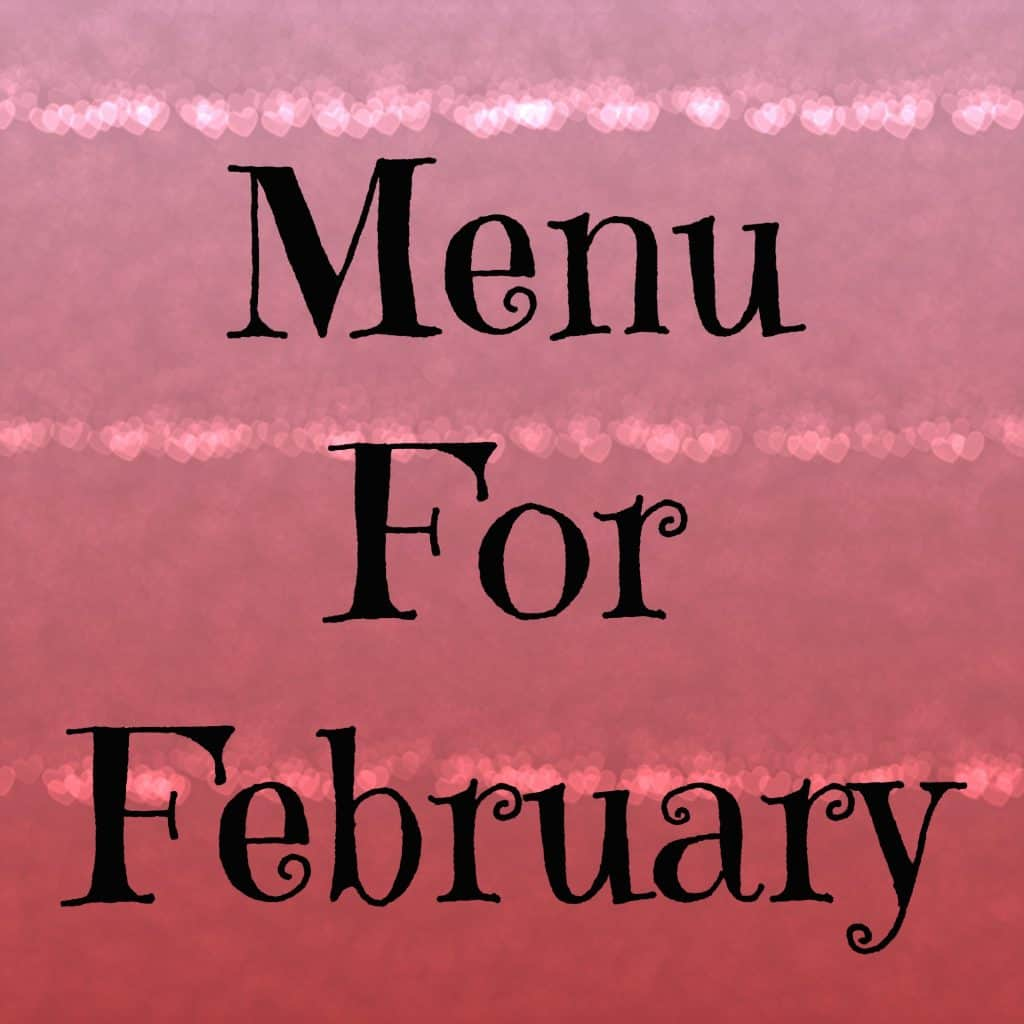 february menu
