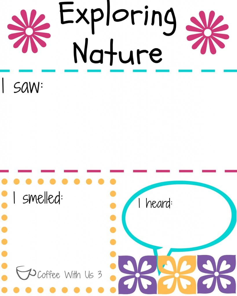 exploring nature printable color