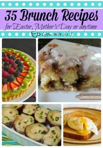 Brunch Recipes for Easter Mother's Day