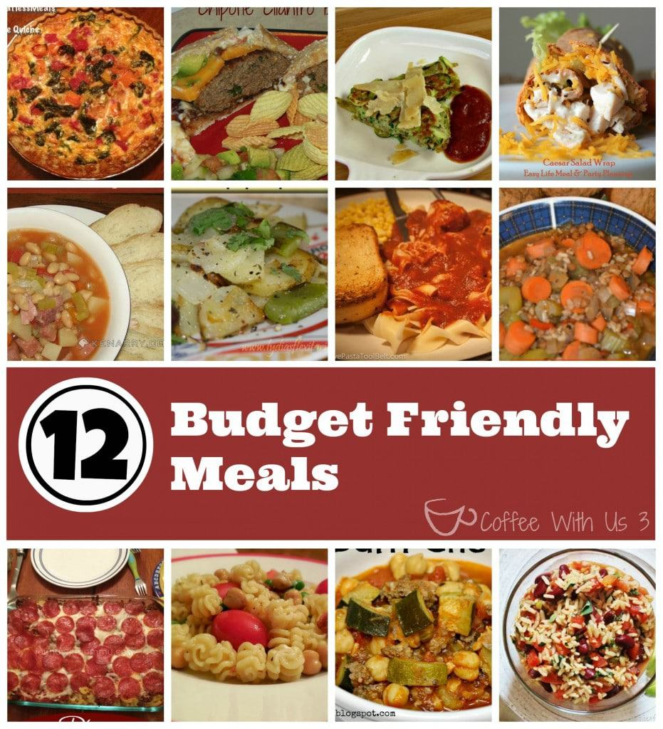 Budget Friendly Meals- Eat well while saving money! #recipes #budget