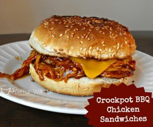 BBQ Chicken Sandwiches