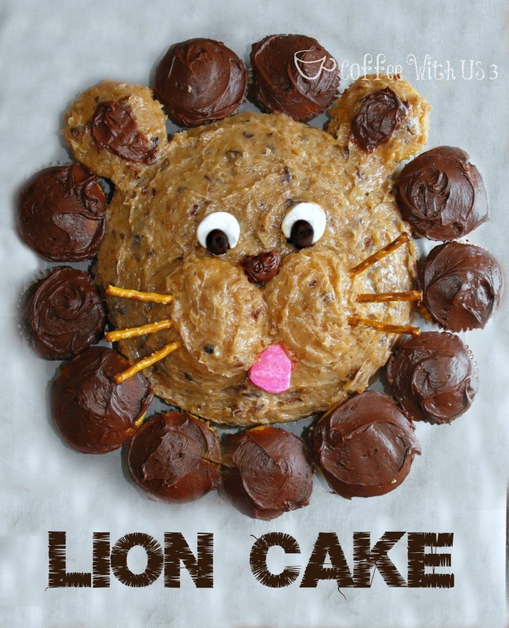 lion cake coffee with us 3