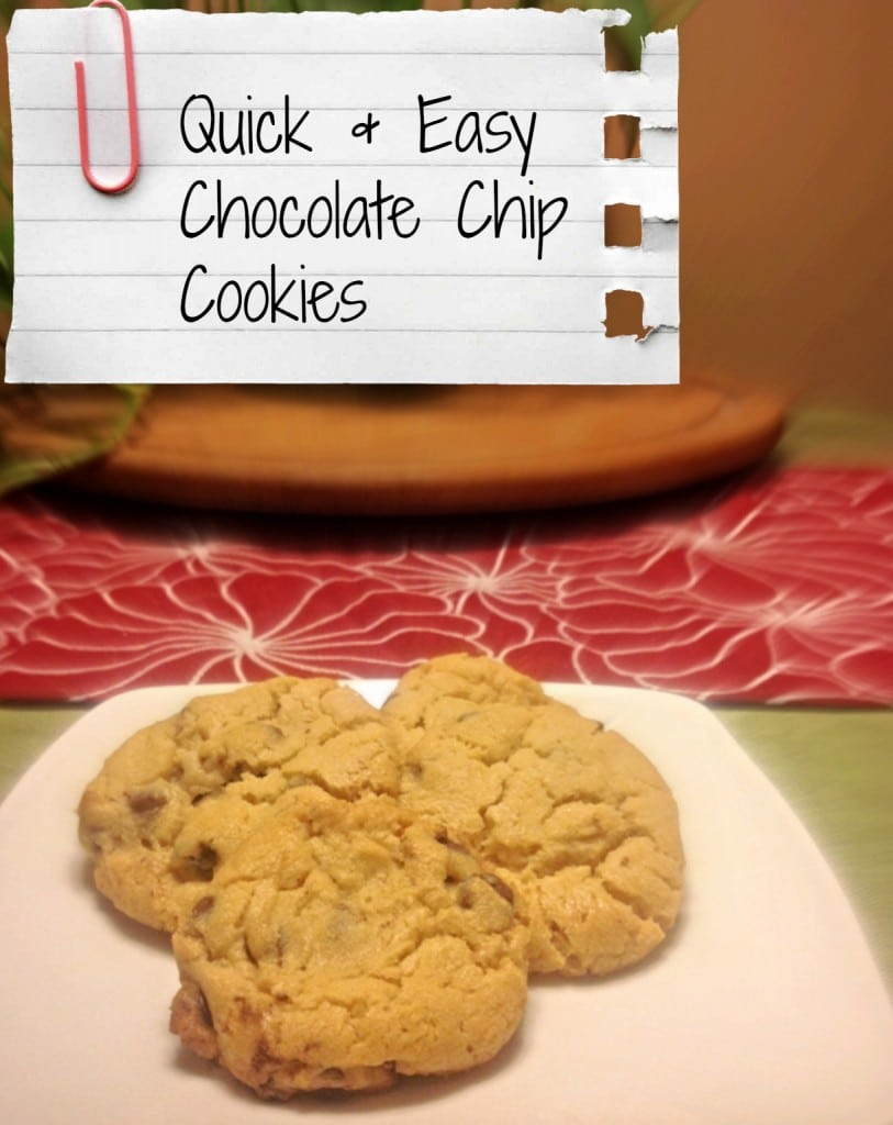 Quick and Easy Chocolate Chip Cookies - Coffee With Us 3
