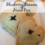 Blueberry Banana Hand Pies