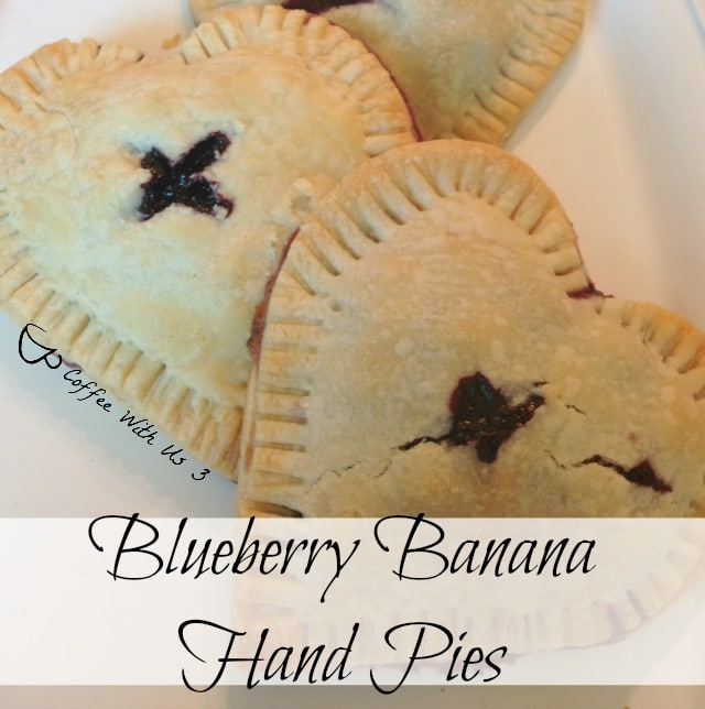 Blueberry-Banana Hand Pies