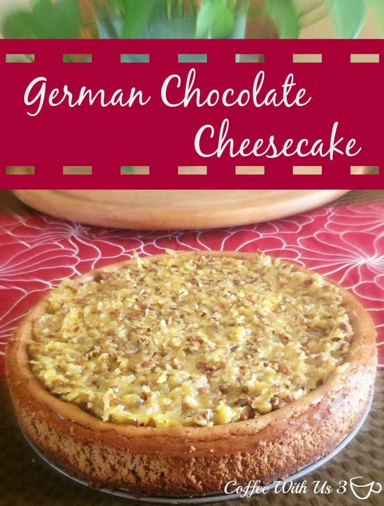 If you love German Chocolate Cake & Cheesecake you will love this delicious twist on the traditional cheesecake.