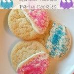 Gender Reveal Party Cookies & Idea