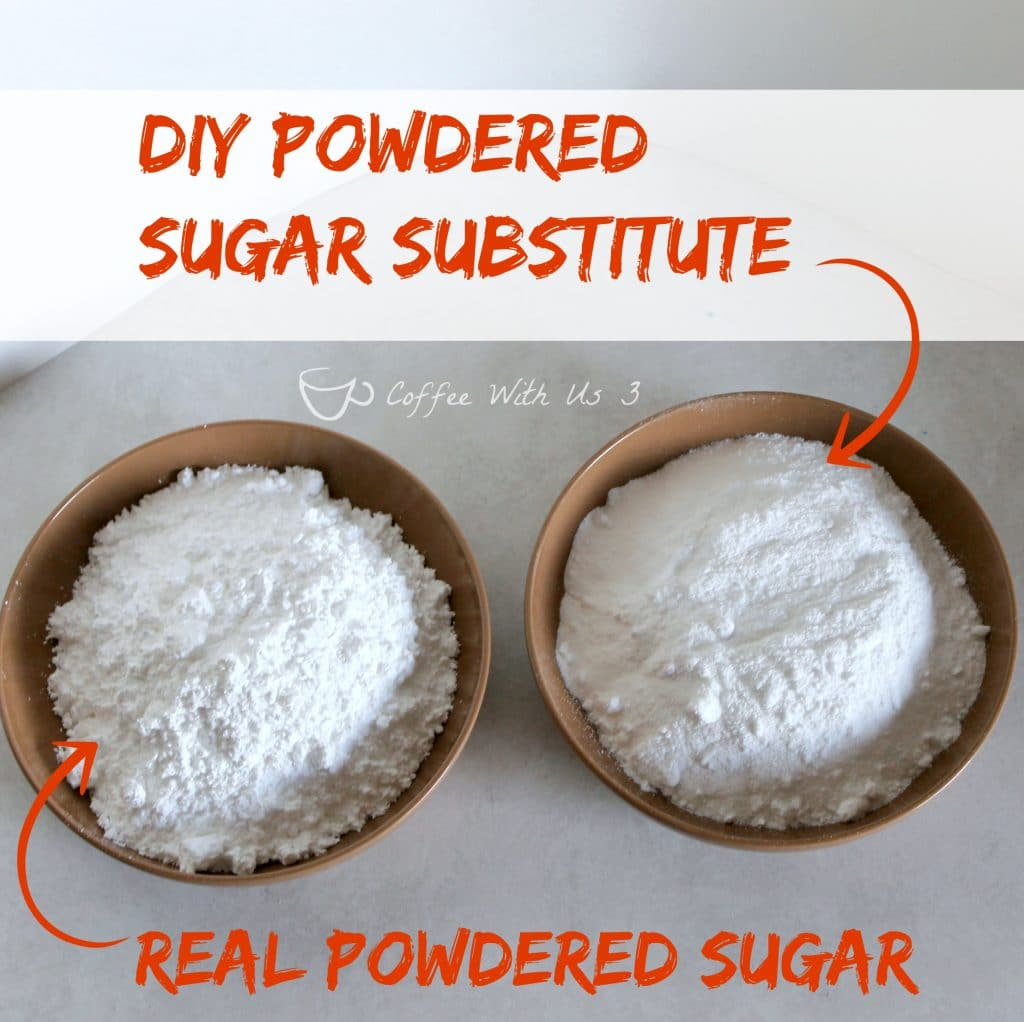 substituting powdered sugar