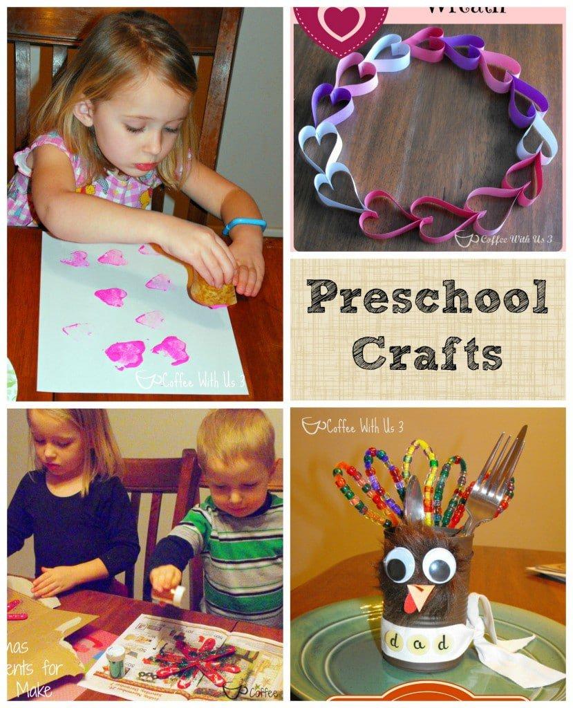 Homeschool Preschool Crafts make learning fun! #homeschool #crafts