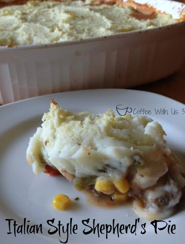Italian Style Shepherd's Pie