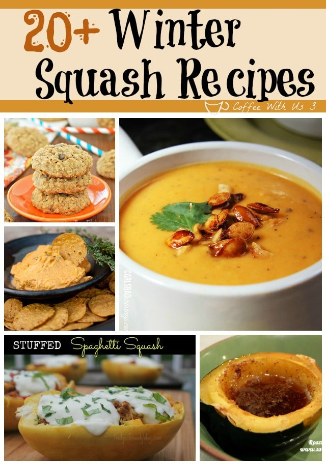 More than 20 Acorn, Butternut, & Spaghetti Squash Recipes to enjoy this fall!