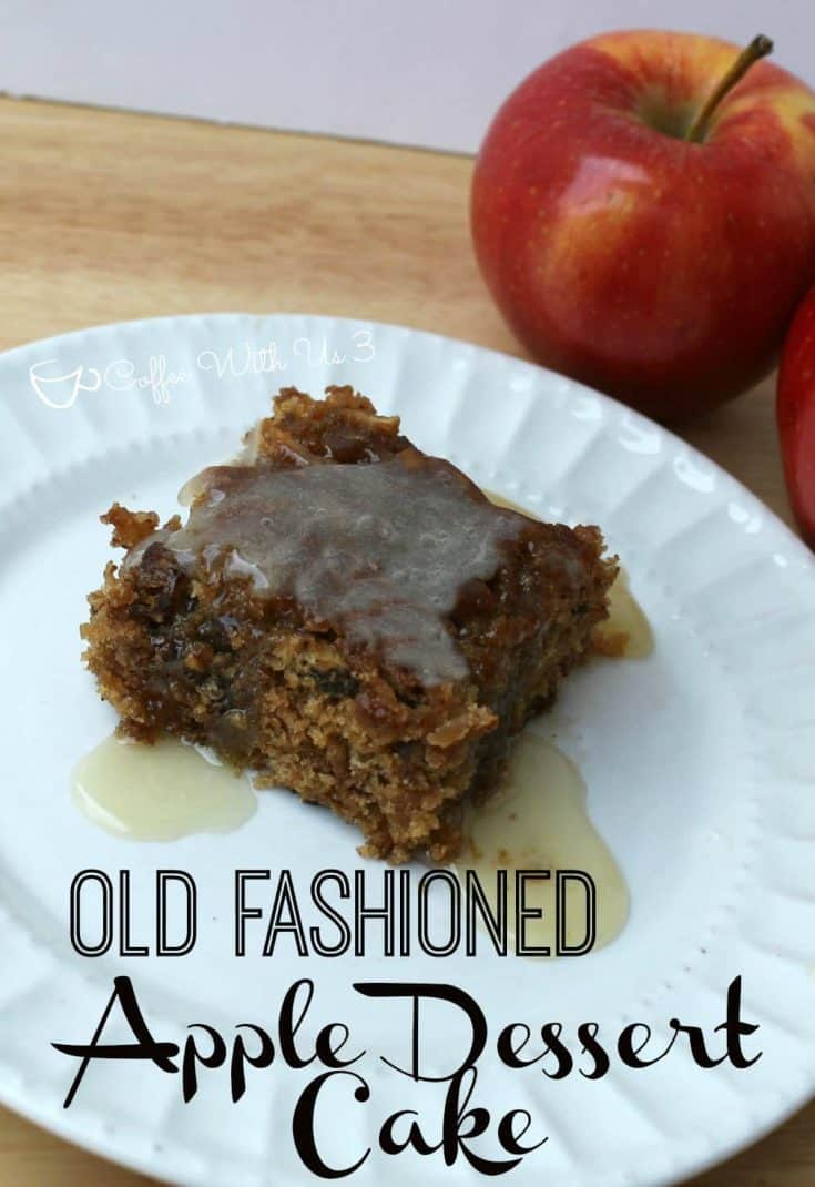 Old Fashioned Apple Dessert Cake