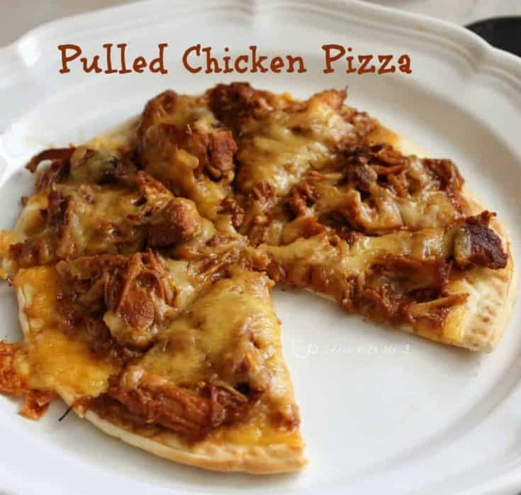 BBQ Chicken Personal Pizzas
