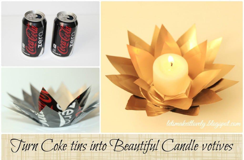 DIY Coke tin Flower