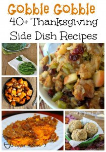 For me Thanksgiving dinner is all about the sides! And it doesn't get any better than these 40+ side dish recipes!