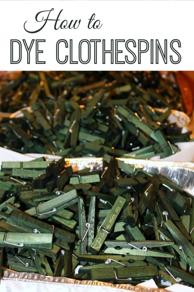 Learn how to Dye Clothespins at Coffee With Us 3