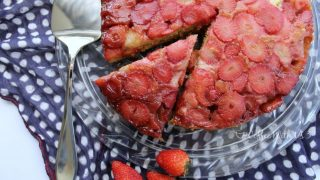 Strawberry Upside-down Cake
