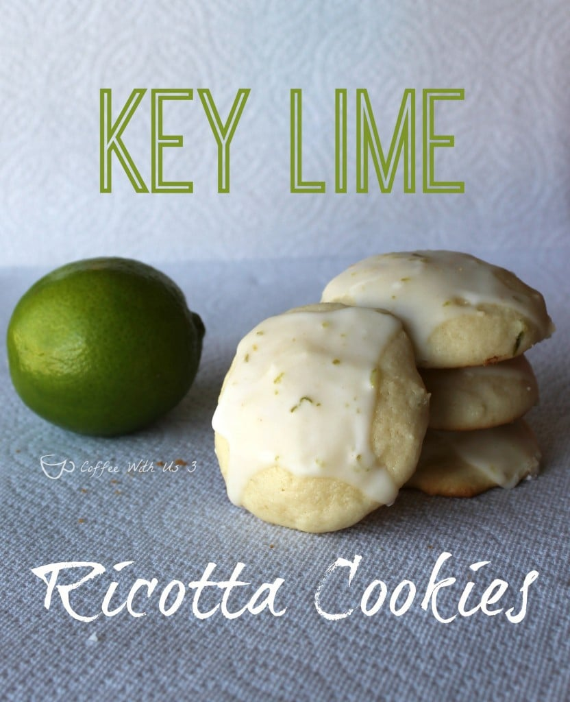 Key Lime Ricotta Cookies are sweet and sour. The perfect cookie for summer!