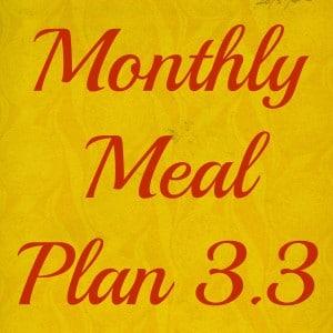 meal plan 33