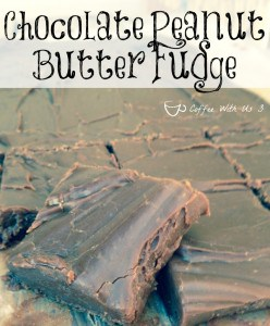 This Chocolate Peanut Butter Fudge is easy & delicious! Sure to please both chocolate & peanut butter lovers!