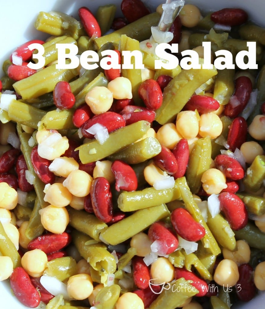 3 Bean Salad Close-up