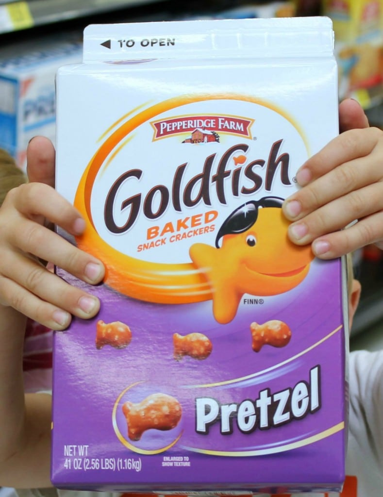 Goldfish Crackers Pretzel