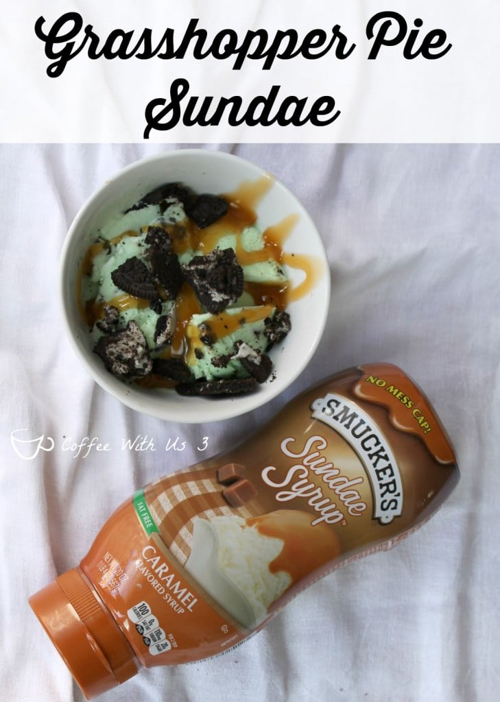 Grasshopper Pie Sundae recipe plus 4 more fabulous Sundae recipes! #sp