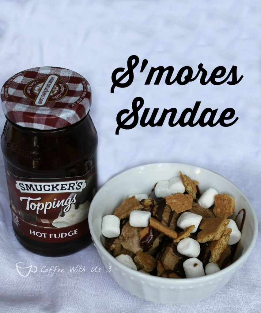S'mores Sundae recipe plus 4 more fabulous Sundae recipes! #sp