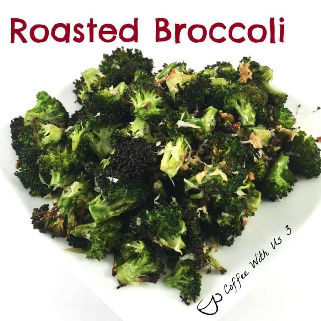 Roasted Broccoli | Coffee With Us 3